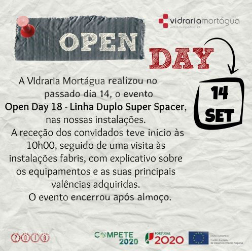Open Day - 14 de Setembro